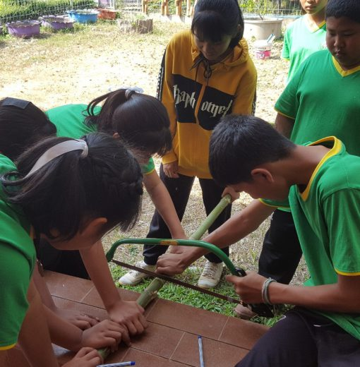 โครงการเกษตรรุ่นใหม่ (กลุ่มยุวเกษตรกรโรงเรียนบ้านบุเจ้าคุณ (หลวงพ่อกัณหา สุขกาโม อุปถัมภ์))